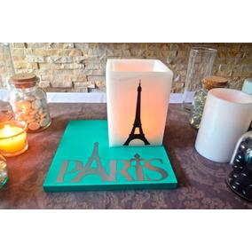 20 Centros De Mesa Torre Eiffel Aluzza