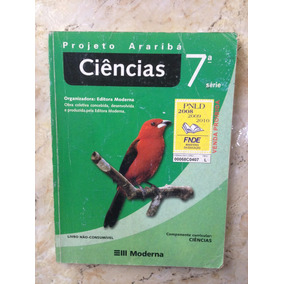 Livro: Ciências Projeto Araribá - 7ª Série