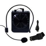 Kit Professor Microfone Amplificado Caixa De Som Mp3