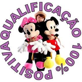 Bonecos Pelucias Mickey Minnie Disney 1 Metro 100cm Gigante