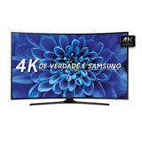 Smart Tv Samsung Curva 55 Ultra Hd 4k Com Hdr Wi-fi 3 Hdmi
