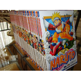 Manga Coleção Naruto 1 A 72 Completa +brindes | Desconto?