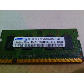 Memoria Ram Ddr2 800 Mhz, 1 Gb, / Pc2-6400 Laptop