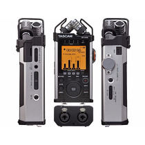 Gravador Dr-44 Voz Digital Tascam Dr 44 Wl Wi-fi Cartão 4gb