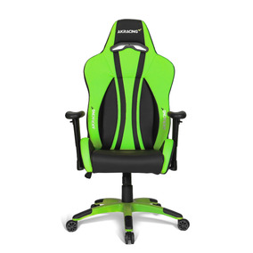 Silla Gamer Akracing Premium Plus Green - Ergonómica