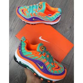ed70552e9e Zapatillas Nike Amarillas Mujer - Ropa y Accesorios Naranja en ...
