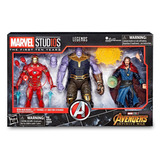 Marvel Studios 10th 3 Pack Iron Thanos Dr Stranger Infinity