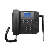 Telefone Fixo Intelbras Com Fio 3g Cf6031 Desbloqueado Preto
