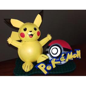 Fofucha - Muñeco - Juguete - Pokemon - Pikachú - Poquemon