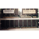 Memorias Dimm Pc100 De 64 Mb Lote X2