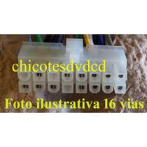Chicote Alimentação De 16 Vias Para Dvd Cyber Sound Cybd-510