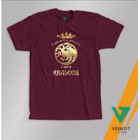 Khaleesi Game Of Thrones Juego De Tronos Camisetas Sefigrafi