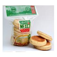 3 Paquetes De Gorditas Nata 100% Leche Natural Casero