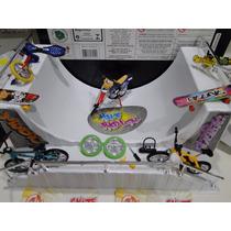 06 Skate Dedo + Pista + Bike + Patinete + Moto + Monociclo