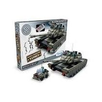 Blocos De Montar Defesa Terrestre Tanque 581 Peças Xalingo