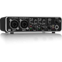 Interface Behringer Umc202hd Umc202 Hd Melhor Q Umc22