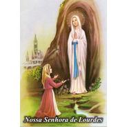 Milheiro Santinho Nossa Senhora De Lurdes Promessa 1000 Un