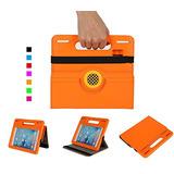 Ipad Mini 4 Caso, Dicekoo Kids Ligero Mango Portátil C W69