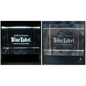 J Walker Blue Label Anuncio Cubo Luminoso * Changoosx