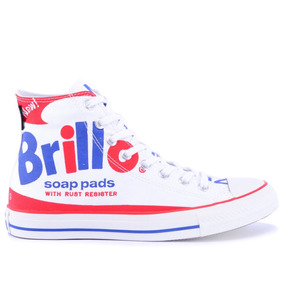 Tênis Converse All Star Ct As Classic Andy Warhol Hi White R