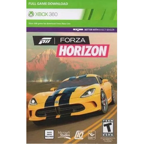 Forza Horizon Xbox 360 - Game Card- 25 Digitos