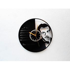 Reloj Disco Vinilo Vinil Acetato Lp German Valdés Tin Tan
