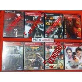 Lote Juegos De Playstation 2 Ps2, Ps1 A $120 C/u