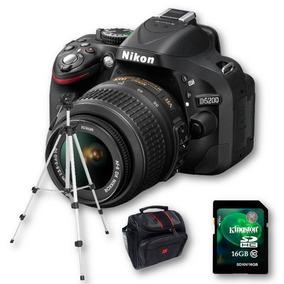 Nikon D5200 Kit 18-55 Full Hd 24mp En Stock !!!
