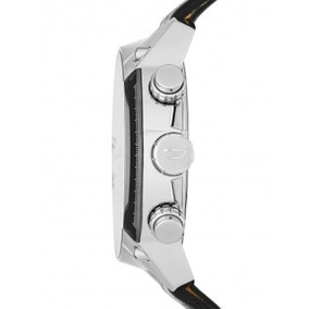 Relógio Analógico Diesel Dz-4341 Cronógrafo Prateado