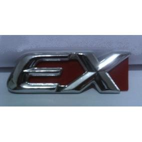 Emblema Cromado Ex Honda Civic Mala Distribuidora Nfg