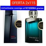 Perfume Pulso Y Magnat De 100% Originales De Garantia Total