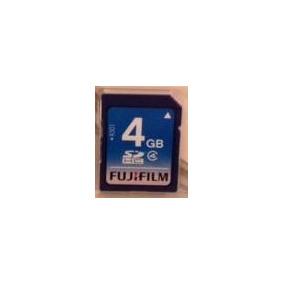 Cartão Memoria Sd 4gb Fujifilm Original