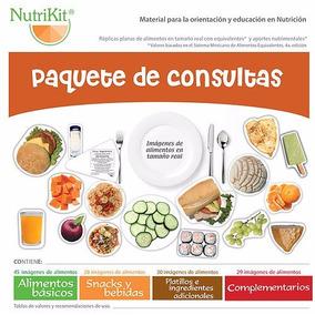 Nutrikit 132 Alimentos Réplicas Planas De Acuerdo Al Smae