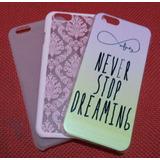 Capas Iphone 6 E 6s Kit 3 Capas Rosa Em Promoção
