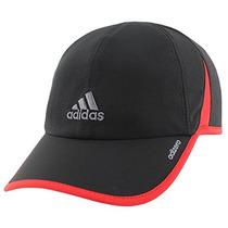 Adidas Hombres Adizero Ii Cap, One Size, Negro / Escarlata /