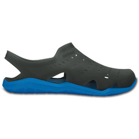 Zapato Crocs Caballero Swiftwater Wave M Gris/azul
