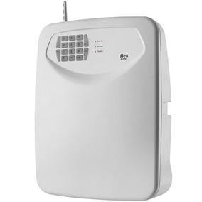 Central De Alarme Com Discador Tem Flex-435 Com 4 Setores Mi
