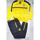 Conjunto Puma Buzo Y Pantalon Chupin Borussia Dortmund