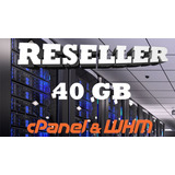 Hosting Reseller 40gb (hosting Para Revendedores)