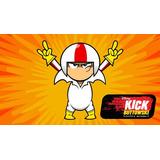 Painel De Festa Infantil Kick Buttowski Banner Tecido 1x0,70