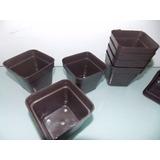 Materos De Plástico (cuadrado Y Redondo) Calidad Garantizada