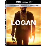 Logan 4k Ultra Hd + Blu-ray Nuevo Importado Original