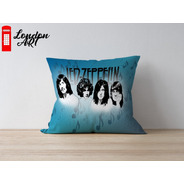 Almofada Decorativa Led Zeppelin 30x30 Premium