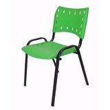 Cadeira Para Restaurantes, Igrejas, Sorveterias - Verde