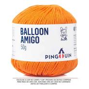 Fio Amigurumi Crochê Balloon Amigo Pingouin