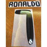 Tipografía Ronaldo 10-11 Real Madrid Numeracion Local