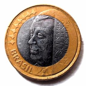Moeda Centenário Juscelino Kubitschek 1 2002