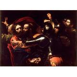 Cristo Jesus Joao Beijo Judas Caravaggio Grande Tela Repro