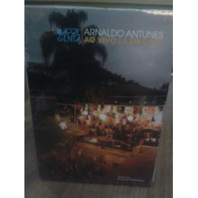Dvd Arnaldo Antunes Ao Vivo La Em Casa