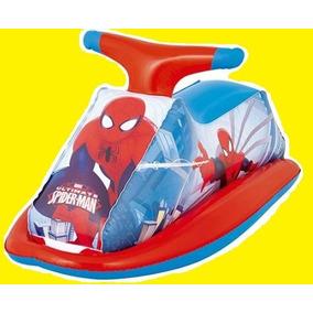 Brinquedo Jet Ski Homem Aranha Bóia Inflável Criança Piscina